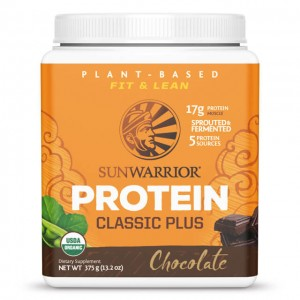 Sunwarrior Classic plus chocolate - bio - 375g