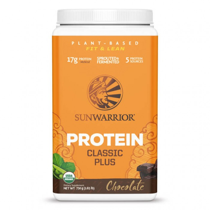 Sunwarrior Classic plus chocolate - bio - 750g