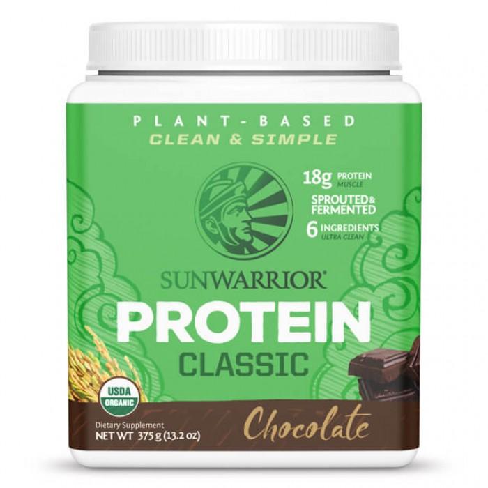 Sunwarrior Protein chocolate - bio - 375g