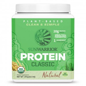 Sunwarrior Protein natural - bio - 375g