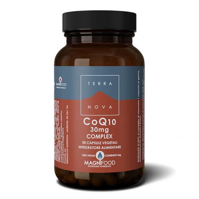 Complesso di Coenzima Q10 (CoQ10) 30mg  - 50 caps