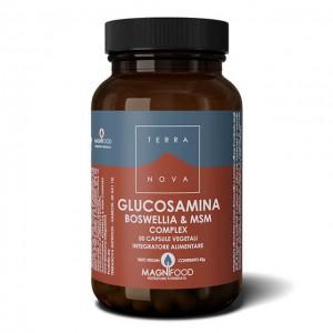 Supporto Articolazioni - Glucosamina, Boswellia e MSM - 50 caps