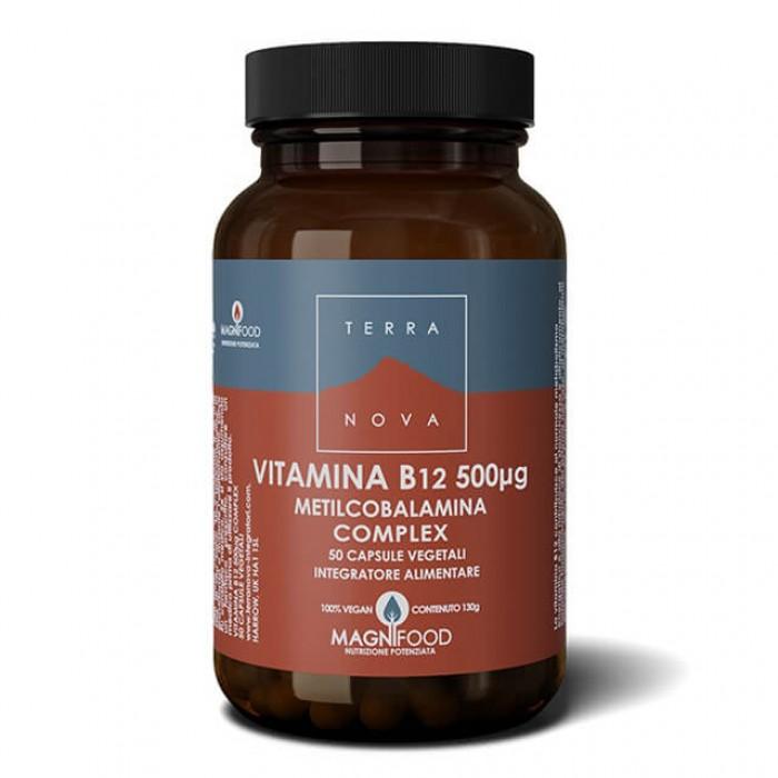 Vitamina B12 (metilcobalamina) 500ug - 50 caps