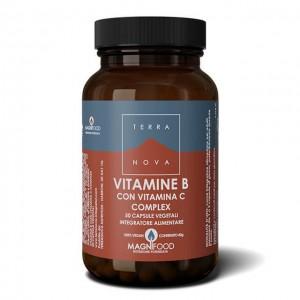 Complesso di vitamine B con vitamina C - 50 caps