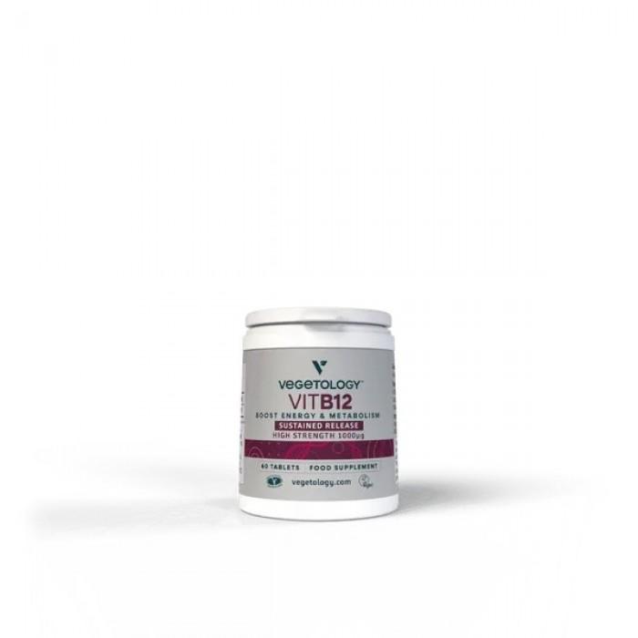 Vitamina B12 - Cianocobalamina vegetale - 60 compresse