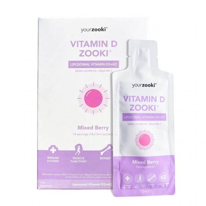 Vitamina D3 e K2 liposomiale - 14x15ml